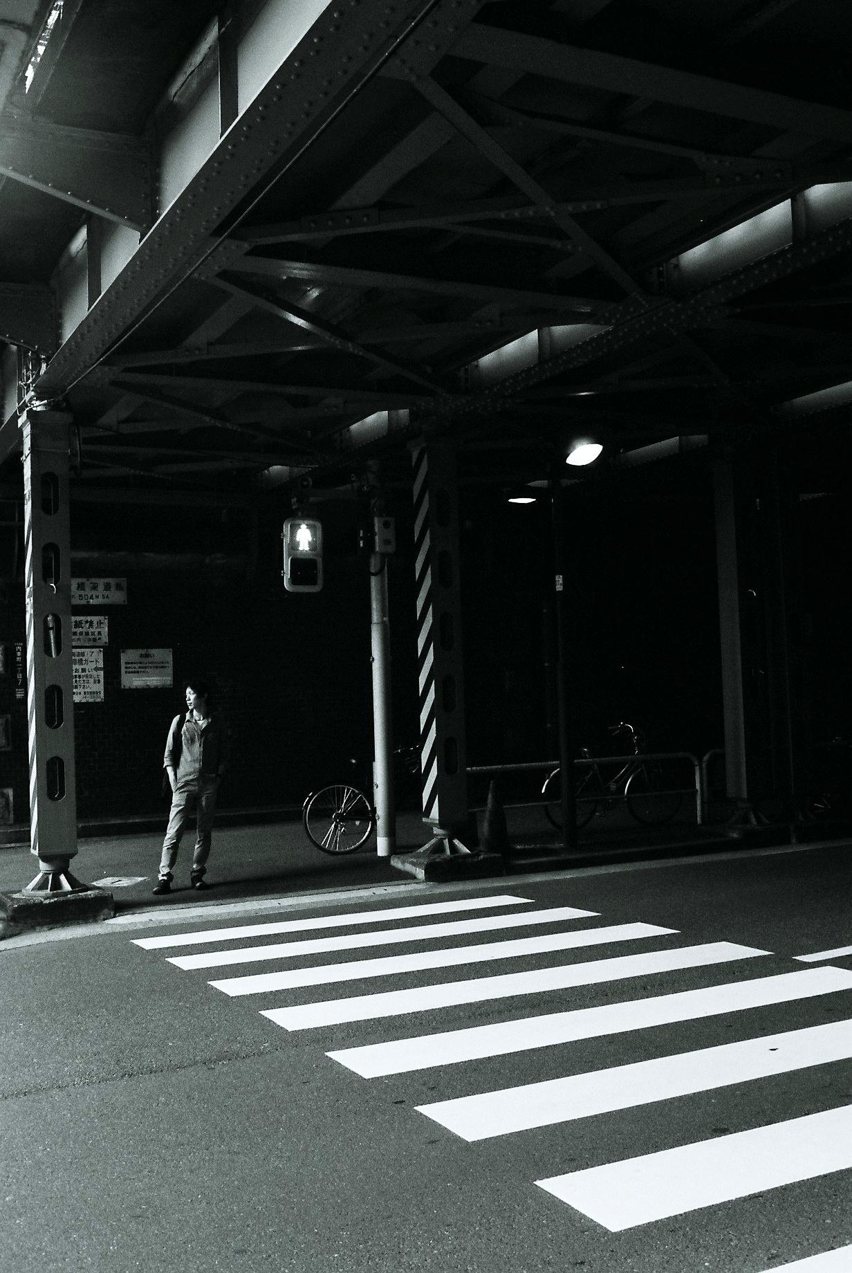Shimbashi Intersection, Tokyo. July, 2016.