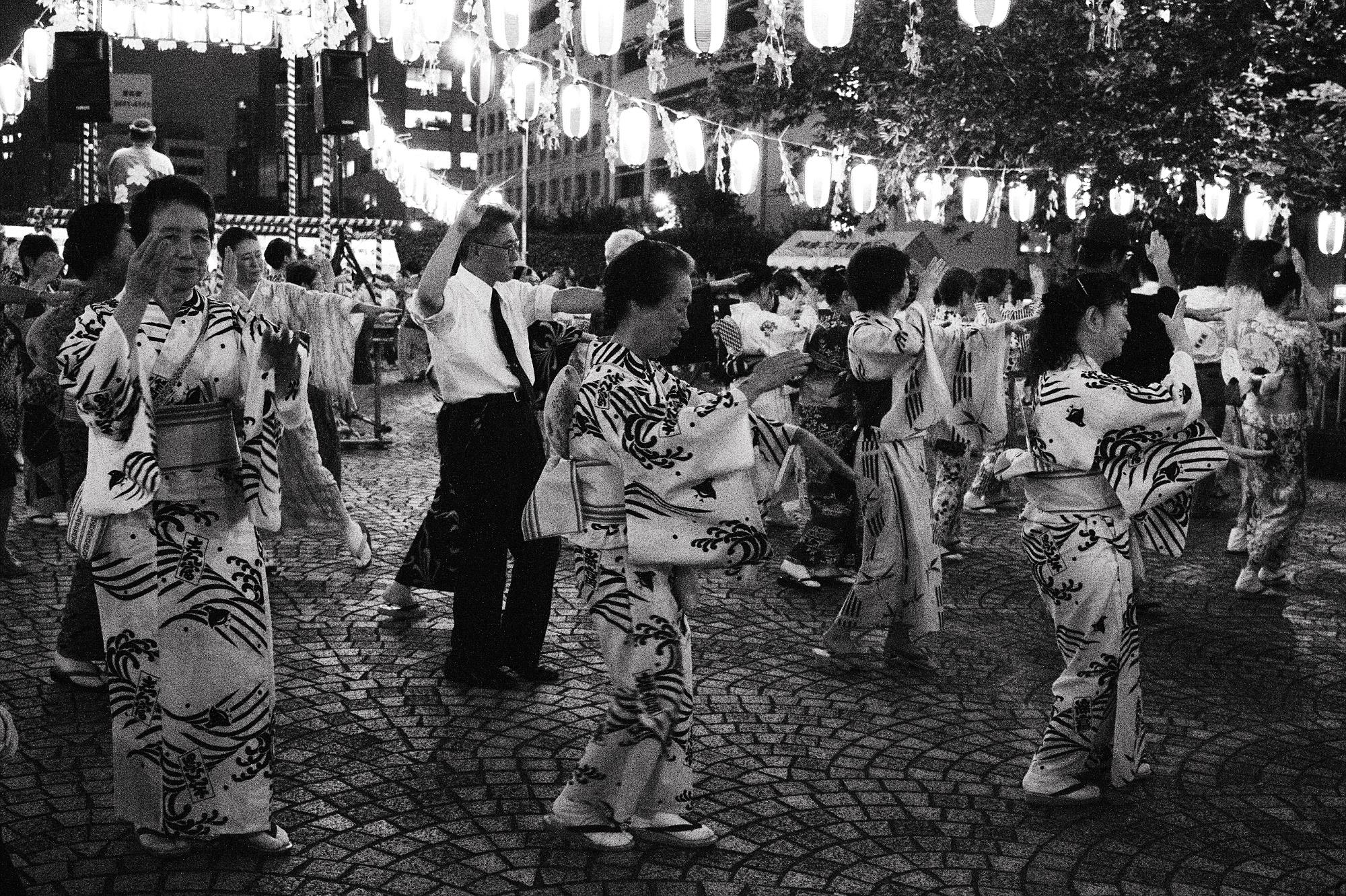 Bon Odori, Higashi Ginza, Tokyo. July, 2016.